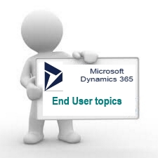 End User Microsoft Dynamics 365 Training