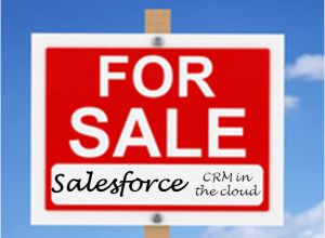 salesforce for sale sign
