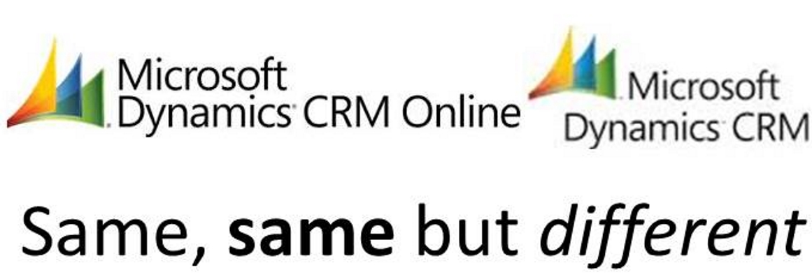 crm   same but different