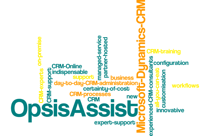 OpsisAssist - a new innovative managed service support for Microsoft Dynamics CRM from Opsis